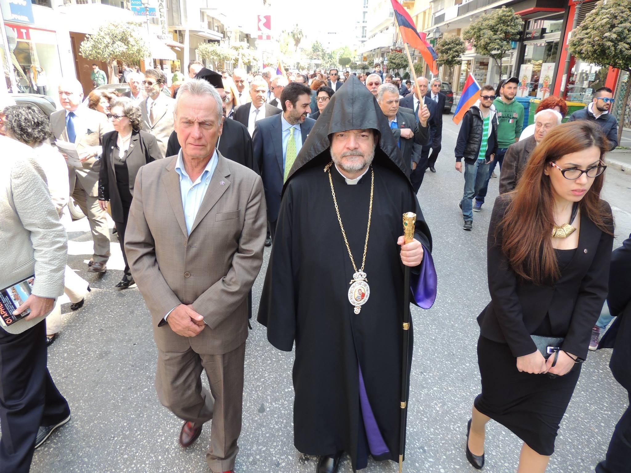 100 χρόνια από τη Γενοκτονία των Αρμενίων. Καβάλα